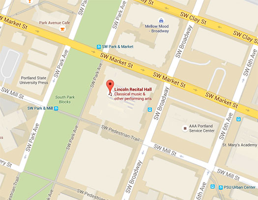 Lincoln Hall Map - Portland State University